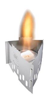 Kapesní vařič na pevný líh ESBIT® CS75S 4 dílný, nouzový