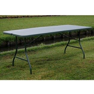 Kempingový skladací stôl ZOWN® - zelený