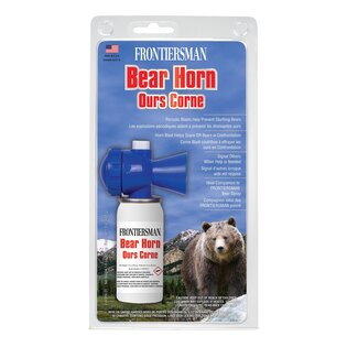Klaksón na medvede SABRE® Frontiersman Bear Horn