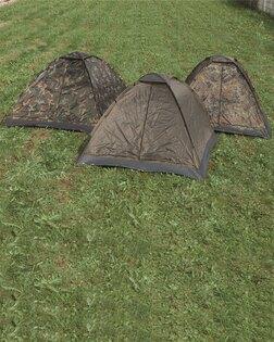 Kopulový stan třímístný Mil-Tec® Iglu Standard - woodland
