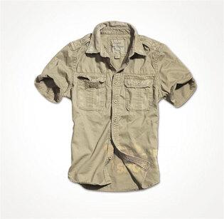 Košeľa RAW VINTAGE SURPLUS® s krátkym rukávom