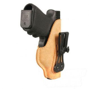 Kožené pouzdro na opasek Blackahawk Glock 26-27