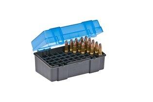 Krabička na náboje - .22-250 Plano Molding® USA - 50 ks, modrá