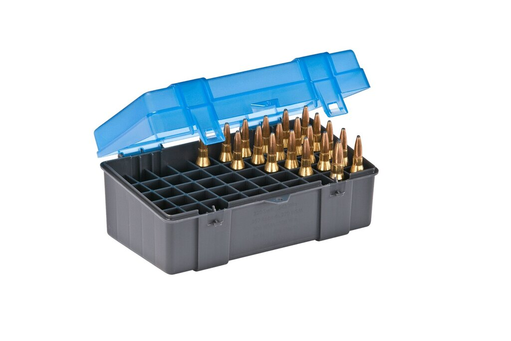 Krabička na náboje - .308 Winchester Plano Molding® USA - 50 ks, modrá