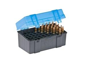Krabička na náboje - 7 mm Magnum Plano Molding® USA - 50 ks, modrá