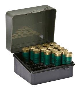Krabička na náboje - brokové 25 ks Plano Molding® USA - OD Green-Black