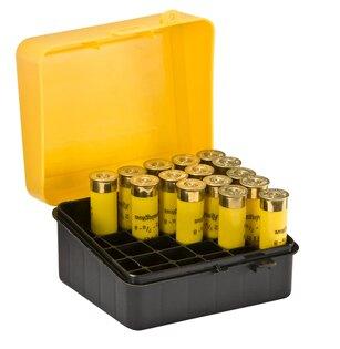 Krabička na náboje - brokové 25 ks Plano Molding® USA - Yellow/Black