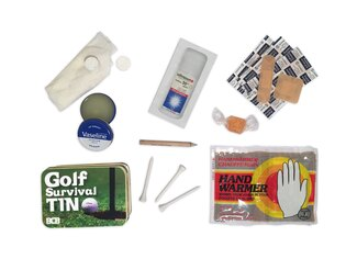 Krabička poslednej záchrany BCB® Golf Survival Tin
