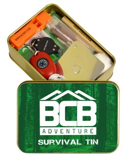 Krabička poslední záchrany BCB® Adventure Survival Tin
