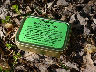 Krabička poslední záchrany BCB® Combat Survival Tin