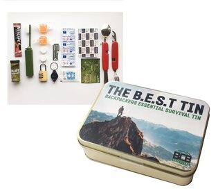 Krabička poslední záchrany BCB® Essentials Survival Tin (B.E.S.T)