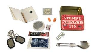 Krabička poslední záchrany BCB® Student Survival Tin