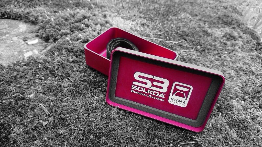 Krabička poslední záchrany (prázdná krabička) SUMA SOLKOA® small