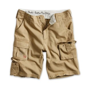 Kraťasy RAW VINTAGE SURPLUS® Trooper Shorts - coyote