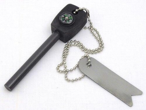 Křesadlo s kompasem BCB® - černé