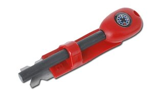 Křesadlo s kompasem BCB® - červené
