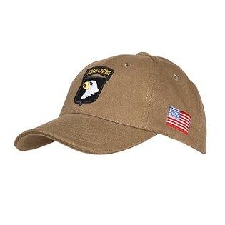 "Kšiltovka ""baseballka"" FOSTEX® 101ST AIRBORNE - khaki"