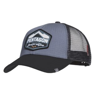 Kšiltovka Era Trucker Born for action PENTAGON® - Wolf Grey