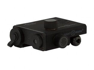 Laserový zameriavač LoPro Green designator Sightmark® - čierny