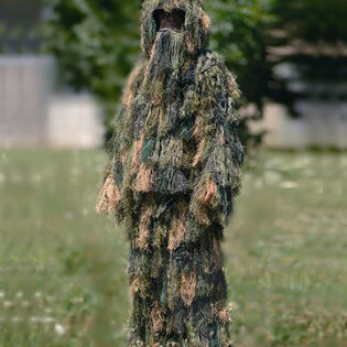 "Maskovací oblek ""Hejkal"" Ghillie 2-dílný SNIPER Mil-Tec® - woodland"
