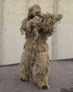 """Maskovací oblek """"Hejkal"""" Ghillie Suit 4-dílný ANTI FIRE Mil-Tec®"""