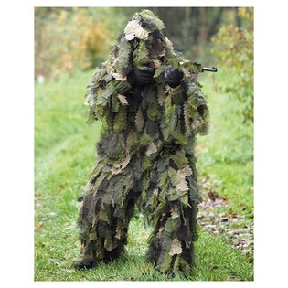 """Maskovací oblek """"Hejkal"""" Ghillie Suit OAK LEAF 3D Mil-Tec® - woodland"""