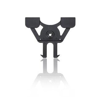 Molle klip R - Serie Cytac® - černý