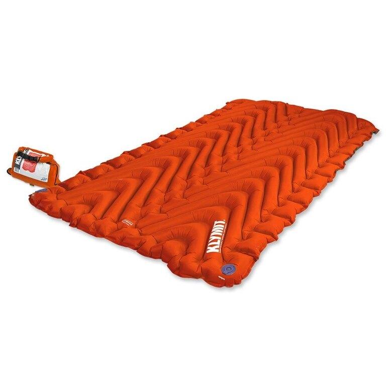 Nafukovací karimatka Insulated Double V Klymit® - oranžová