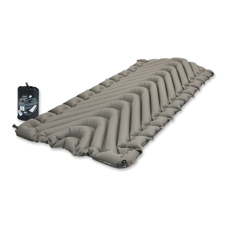 Nafukovací karimatka Static V Luxe Klymit® - Stone