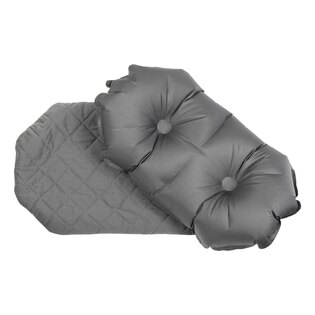Nafukovací polštář Luxe Pillow Klymit® - šedý
