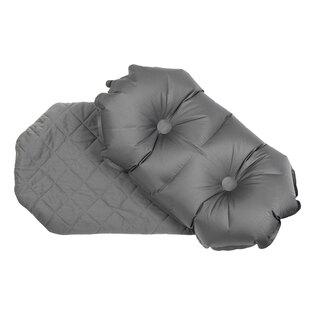 Nafukovací vankúš Luxe Pillow Klymit® - sivý