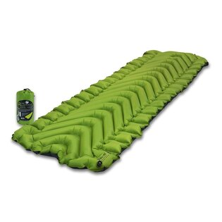 Nafukovacia karimatka Static V2 Klymit® - Light Green