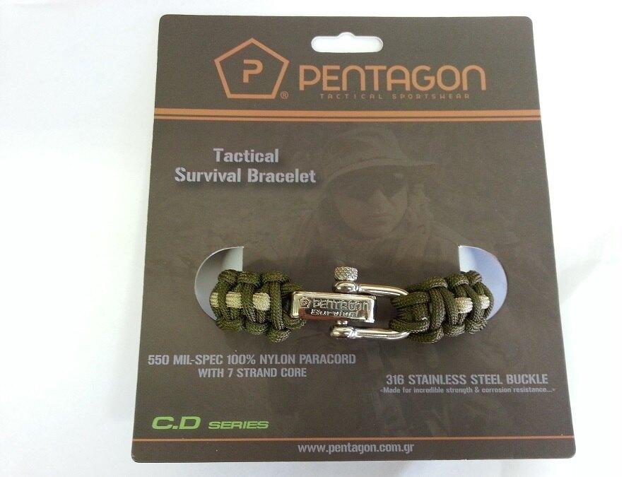Náramek pro přežití PENTAGON® Survival 2.0