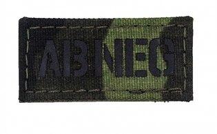 Nášivka AČR IR Combat Systems® krevní skupina AB NEG - vzor 95