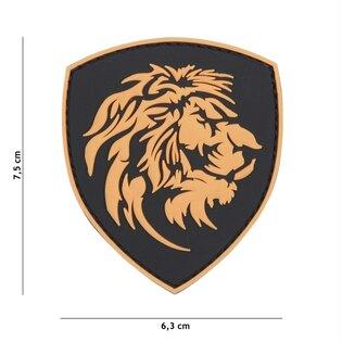 Nášivka Dutch Lion 101INC® - hnědá