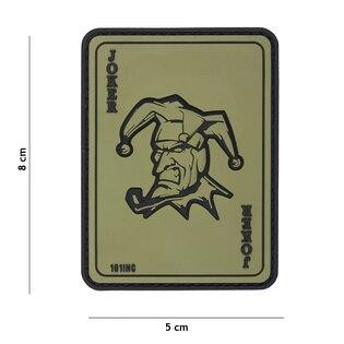 Nášivka Joker 101INC® - zelená