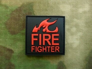 Nášivka JTG FireFighter - Blackmedic