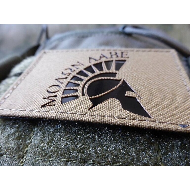 Nášivka JTG® Molon Labe Helmet IR Milspec - coyote