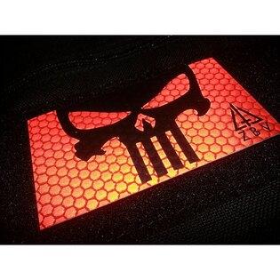 Nášivka JTG® Punisher reflexná - červená