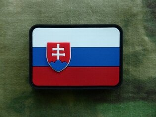 Nášivka JTG - Slovenská republika - farebná