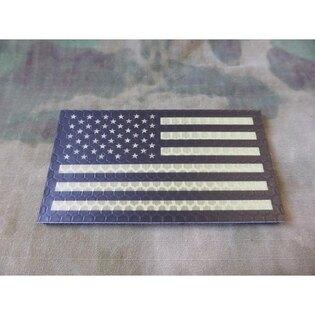 Nášivka JTG® USA vlajka IR - desert