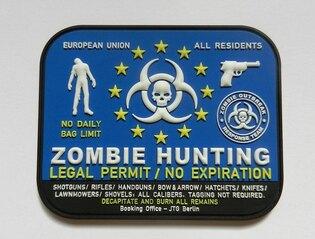 Nášivka JTG Zombie Hunting
