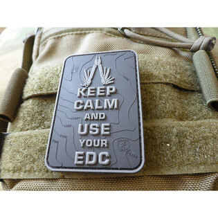 Nášivka Keep Calm and use your EDC JTG®