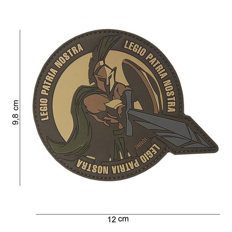 Nášivka Legio Patria 101INC® - hnědá