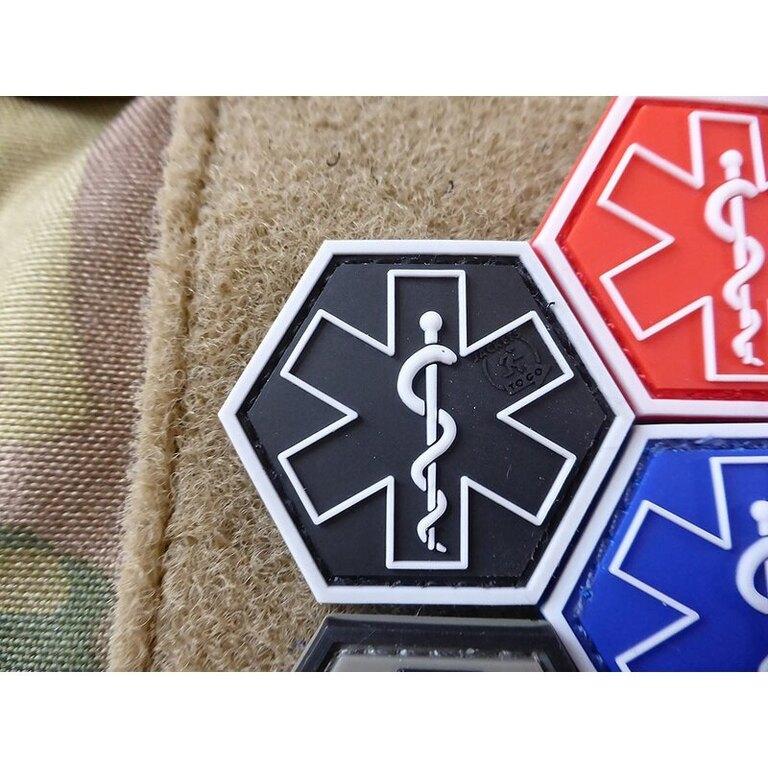 Nášivka Paramedic Hexagon JTG® Swat