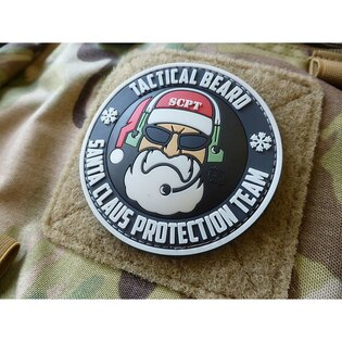 Nášivka Tactical Beard Santa Claus Protection Team JTG®