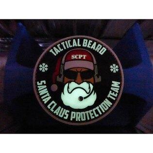 Nášivka Tactical Beard Santa Claus Protection Team JTG®