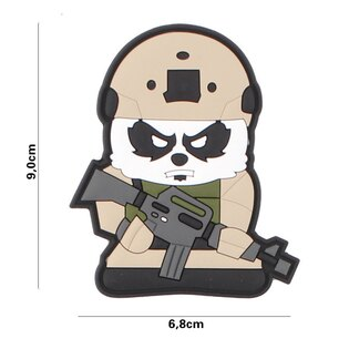 Nášivka Tactical Panda 101INC® - khaki
