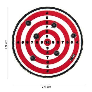 Nášivka Target 101INC® - červená