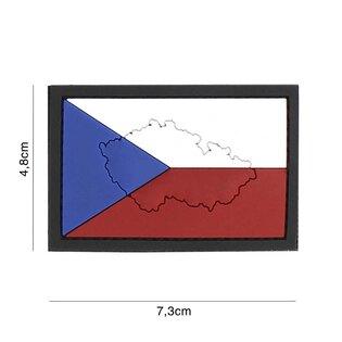 Nášivka vlajka Česká republika 101INC® - farebná